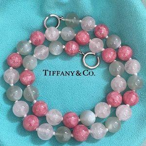 TIFFANY & CO. ~ Multi Gemstone Gems Bead Necklace